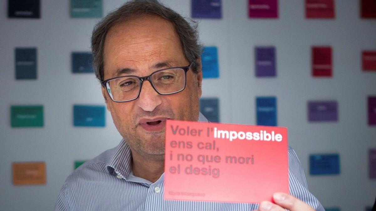 """Torra anima a los catalanes a decir 'no' a la """"vulneración de derechos civiles"""""""