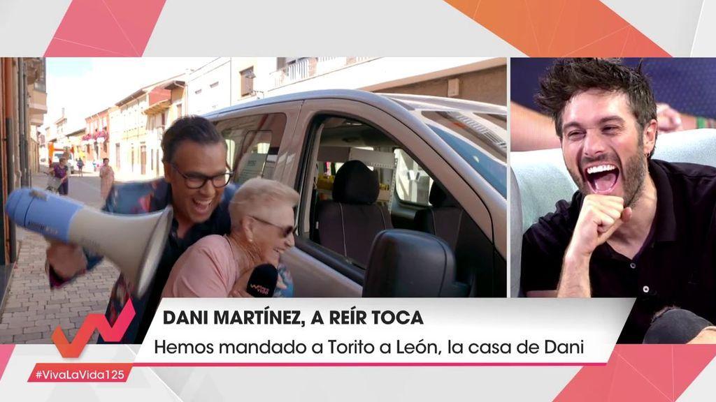 """Los vecinos de Dani Martínez desvelan sus secretos:  """"Acuérdate de echar 3 en 1 en tu cama"""""""