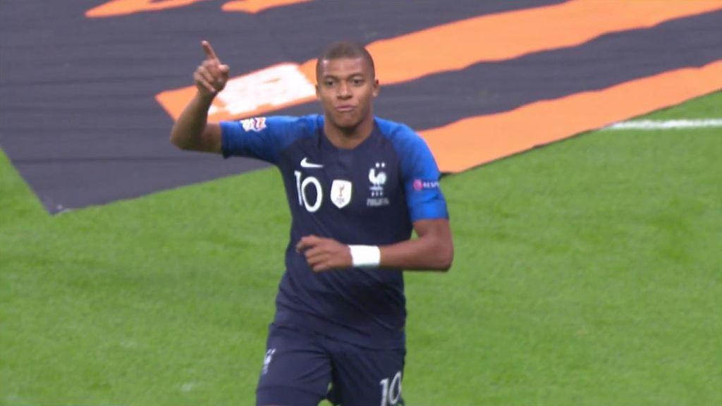 Mbappé no perdona a Holanda y abre la lata en París tras un error defensivo (1-0)