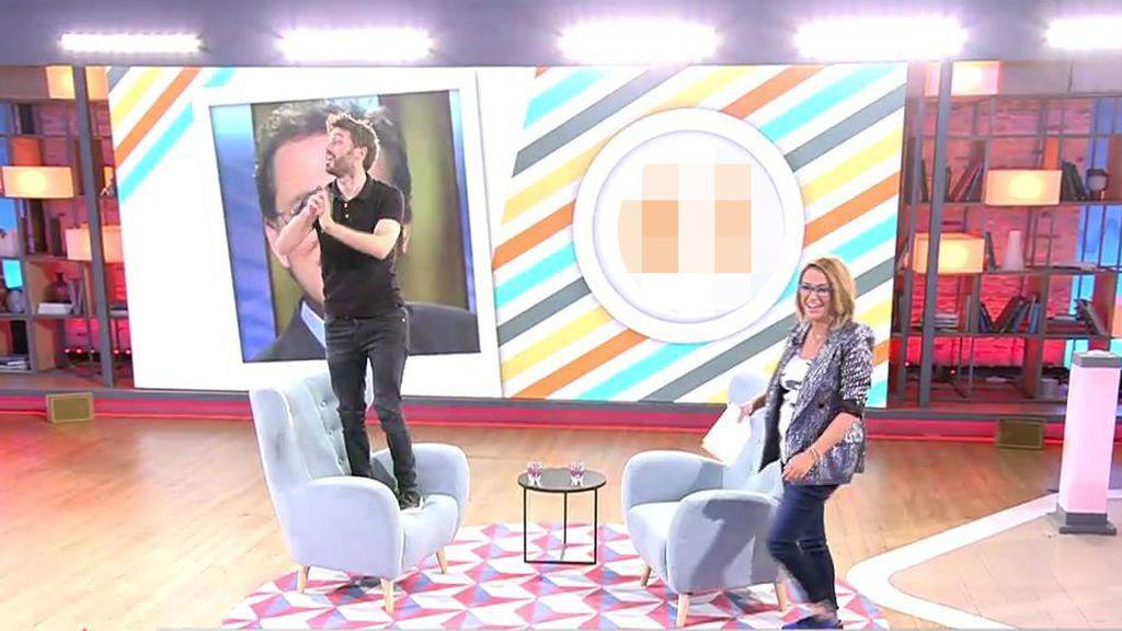 Dani Martínez deja con la boca abierta a Toñi Moreno al acertar la edad de Jordi Hurtado