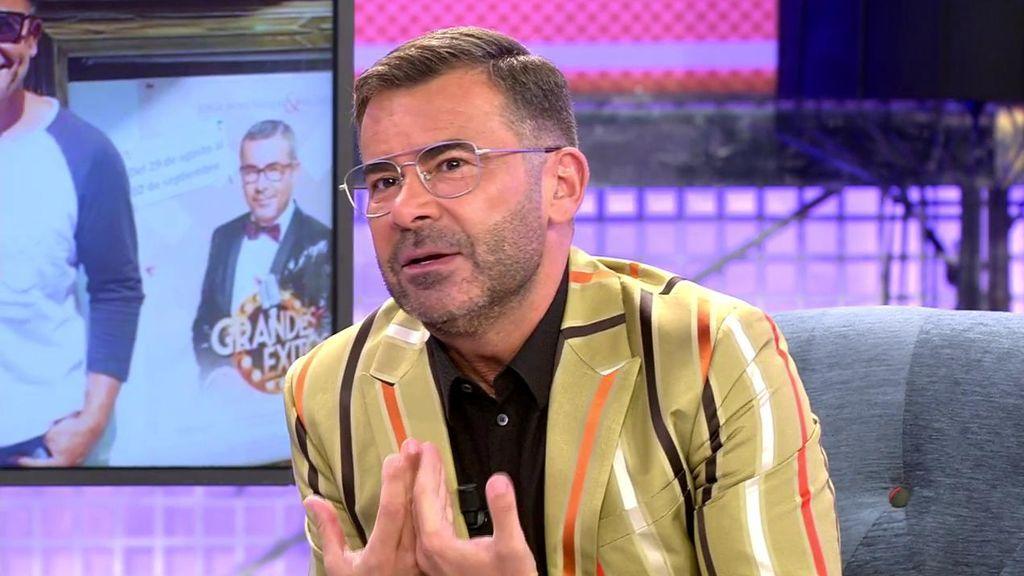 """Jorge Javier, sobre Paco: """"No he vuelto a hablar con él pero compartimos la custodia de los galgos"""""""