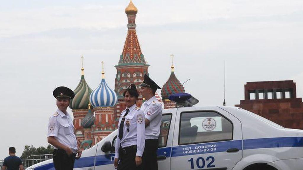 Detenido el sospechoso de un atropello en Moscú que deja varios heridos