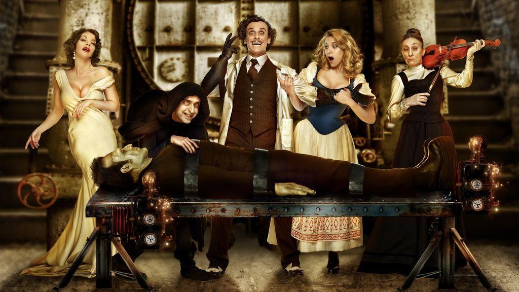 ¡Primera foto de 'El jovencito Frankenstein'! Llega a Madrid la comedia musical más terrorífica