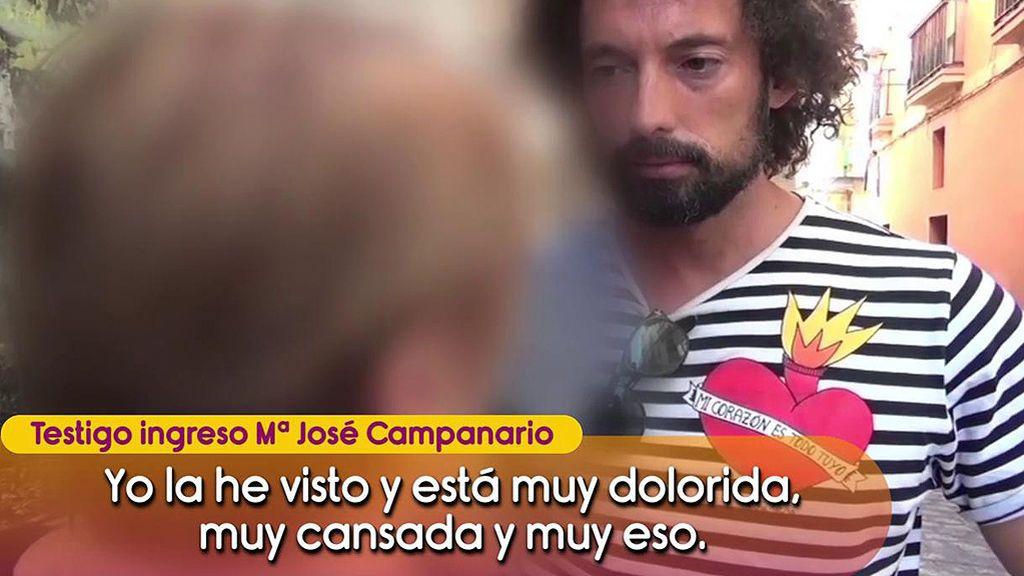 Aislada, sin tele y a oscuras: Todos los detalles del ingreso de María José Campanario