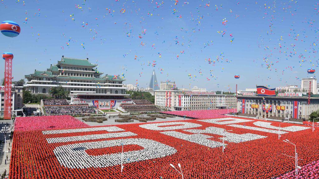 70º aniversario de Corea del Norte