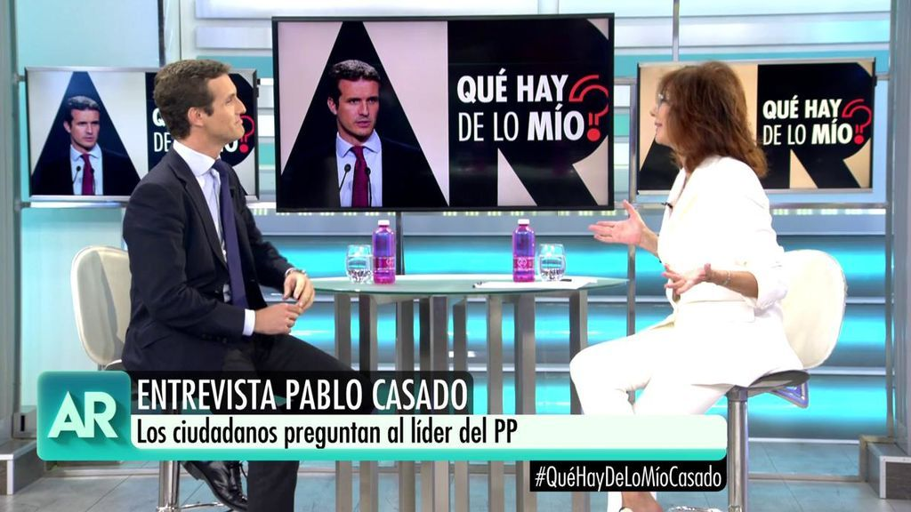 """Pablo Casado estrena '¿Qué hay de lo mío?': """"Muchos españoles no entendieron la moción de censura a Rajoy"""""""