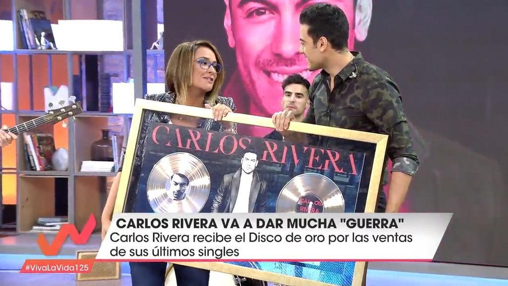 Carlos Rivera en Viva la vida
