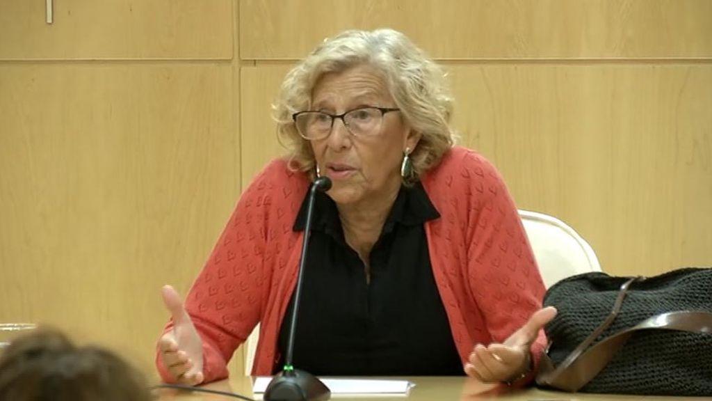 """Carmena, dispuesta a repetir como alcaldesa de Madrid en una """"plataforma nueva"""""""