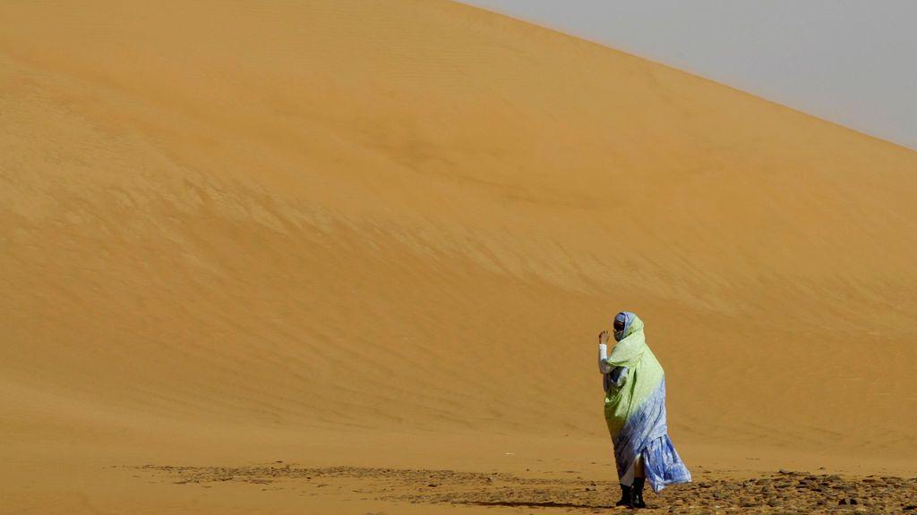 Descubren un método para que llueva en el desierto del Sahara