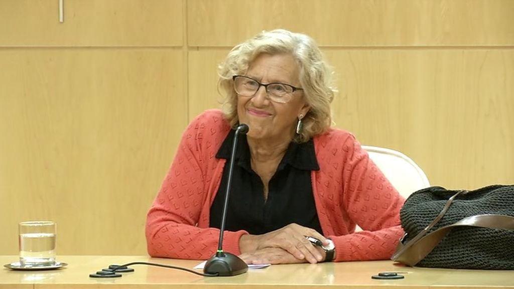 Carmena repetirá de candidata pero se desmarca de los partidos