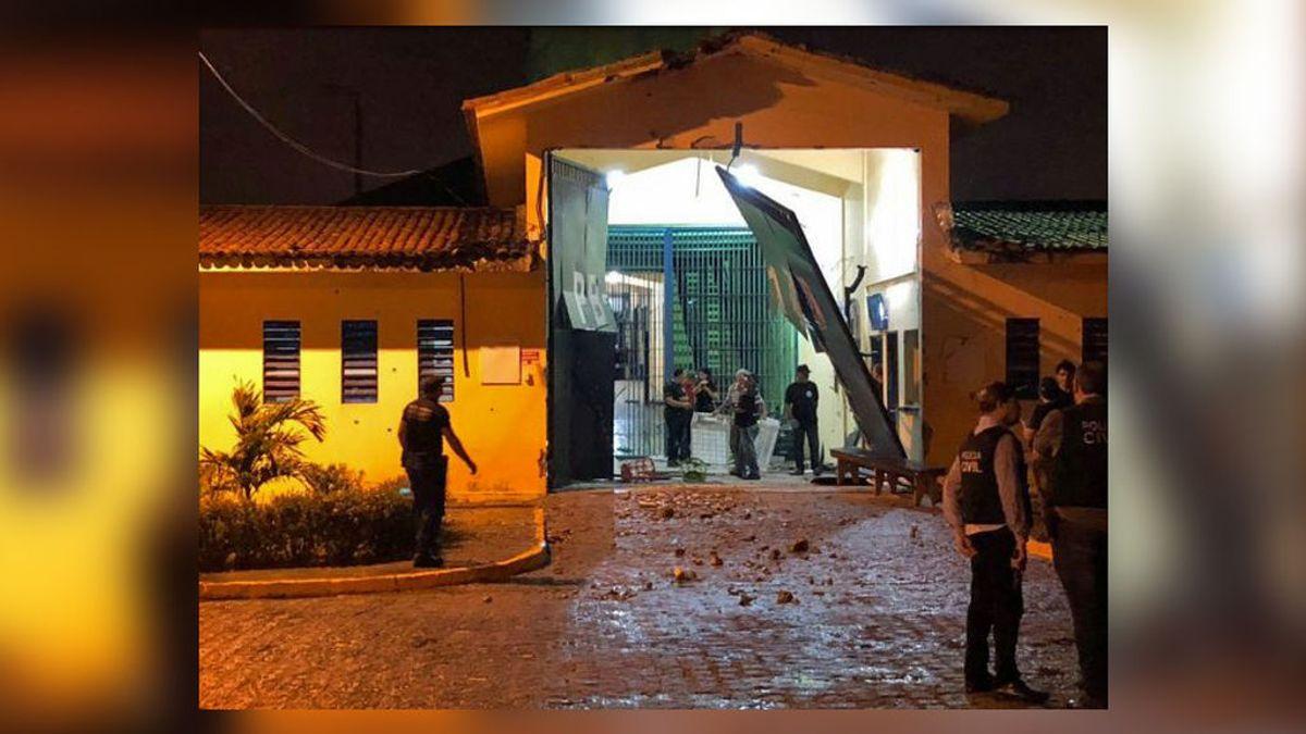 Fuga masiva de una cárcel de máxima seguridad en Brasil: escapan más de 100 presos