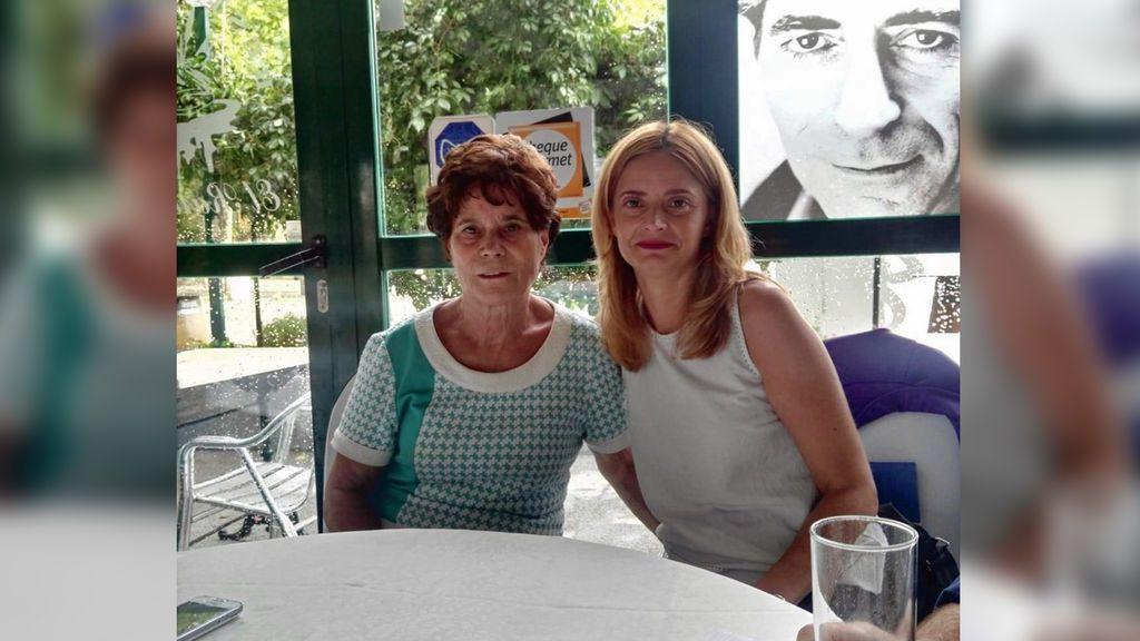 Ana Belén Pintado, una bebé robada en una clínica de Madrid, se reencuentra con su madre biológica
