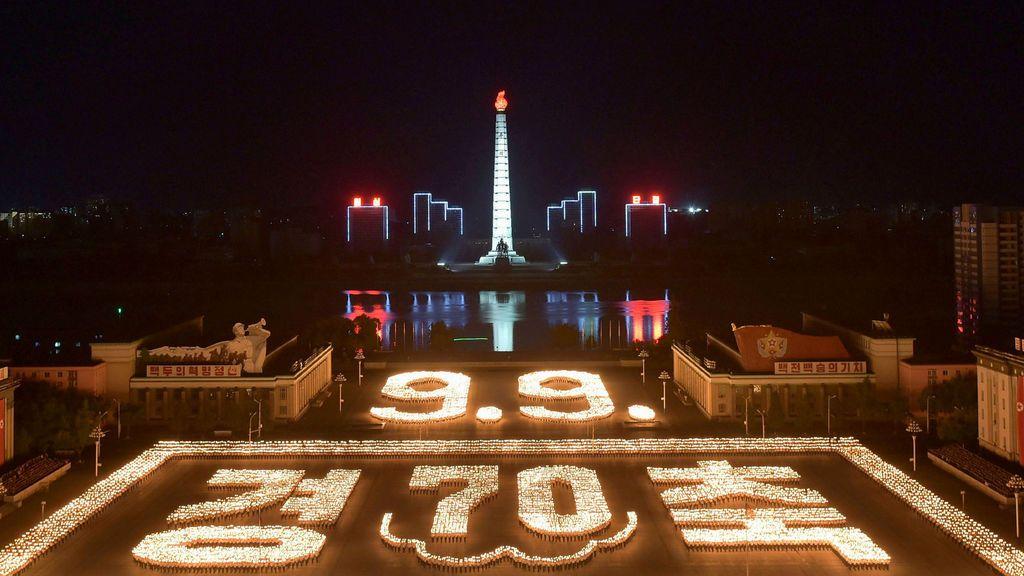 Los 70 años de Corea del Norte por todo lo alto