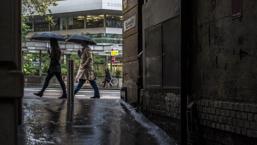 llover ciudad
