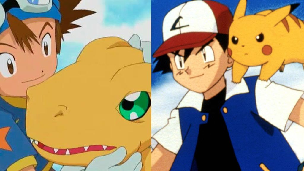 El eterno debate: ¿'Pokémon' o 'Digimon'?