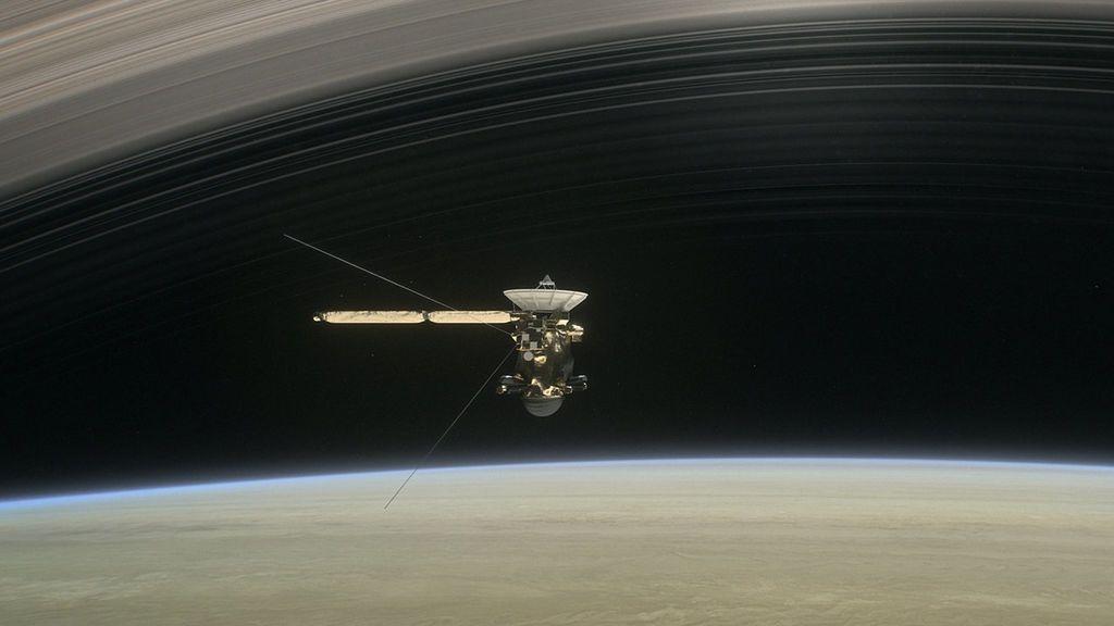 La NASA gana un Emmy por la misión Cassini
