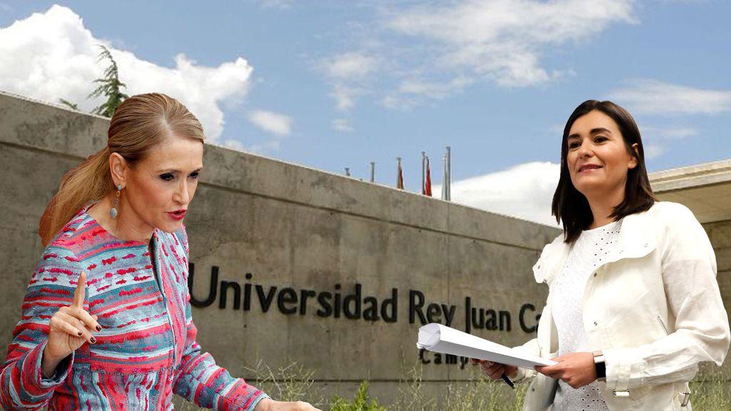El caso Cifuentes no afectó a las matriculaciones de másteres en la URJC, ¿afectará el caso Montón?