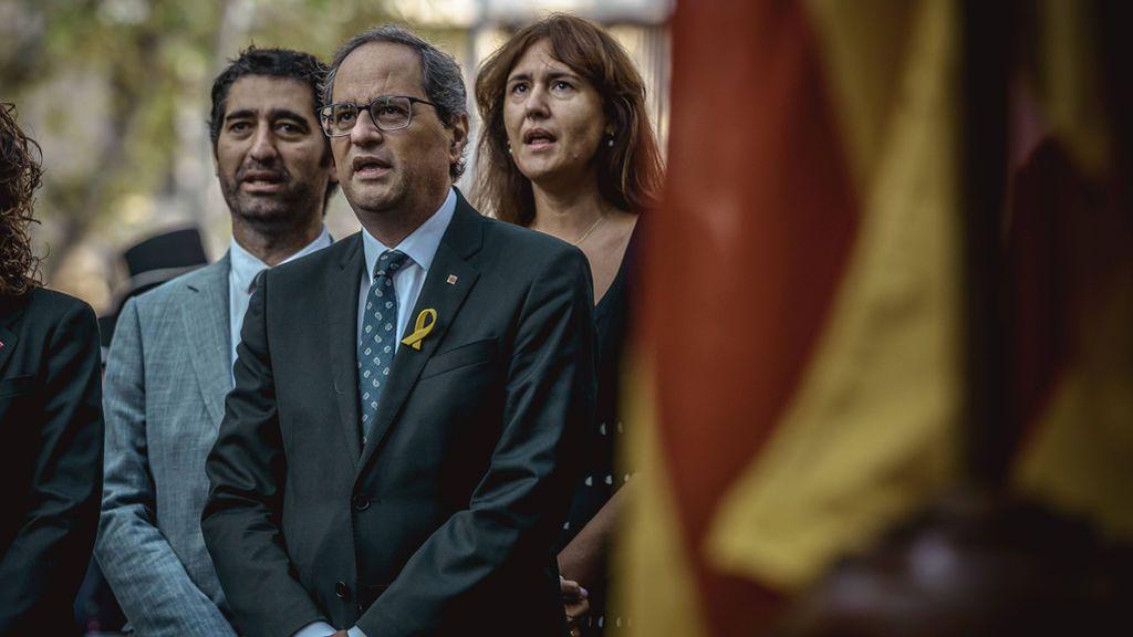 """Torra lamenta no tener """"la posibilidad de abrir las cárceles"""" y anuncia que comenzarán el proceso constituyente"""