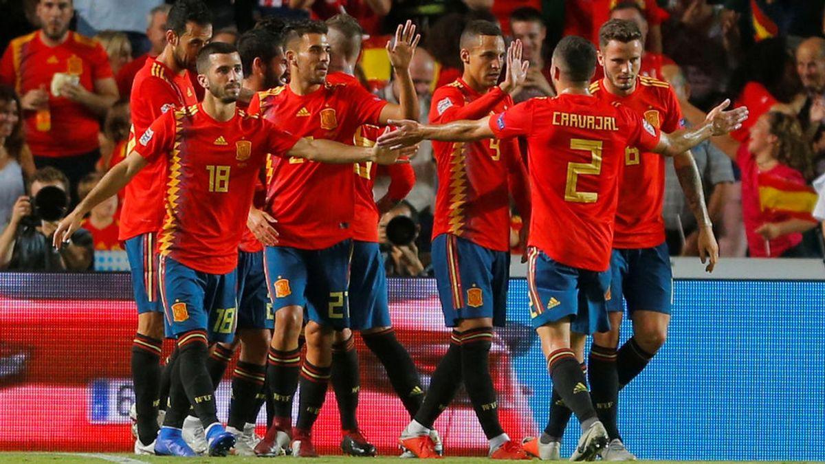 España ante Croacia