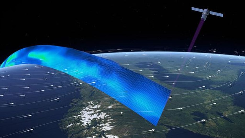 Aeolus ya mide en el espacio los vientos que agotan a la capa de ozono