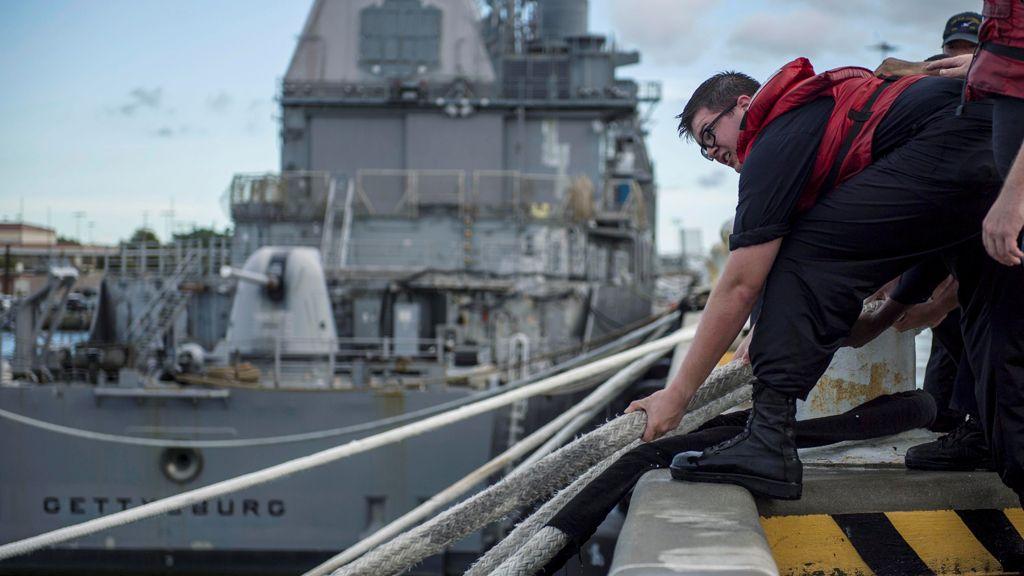 """Estados Unidos se prepara para el huracán Florence: """"Quizás no hayan visto nada igual"""""""
