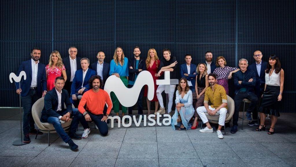 Imagen de la presentación de la temporada 2018-2019 de Movistar+.