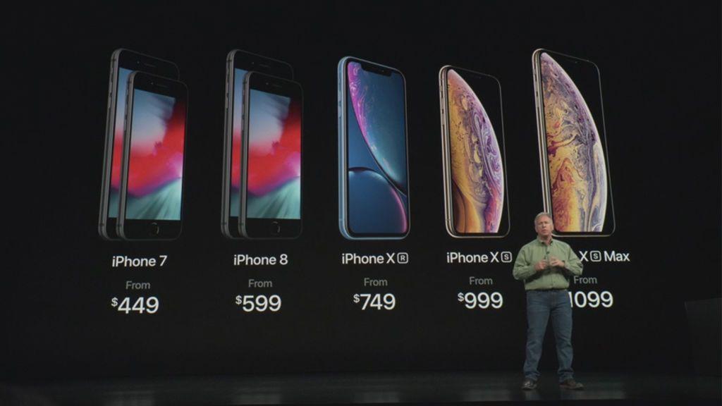 Los nuevos iPhone y sus precios