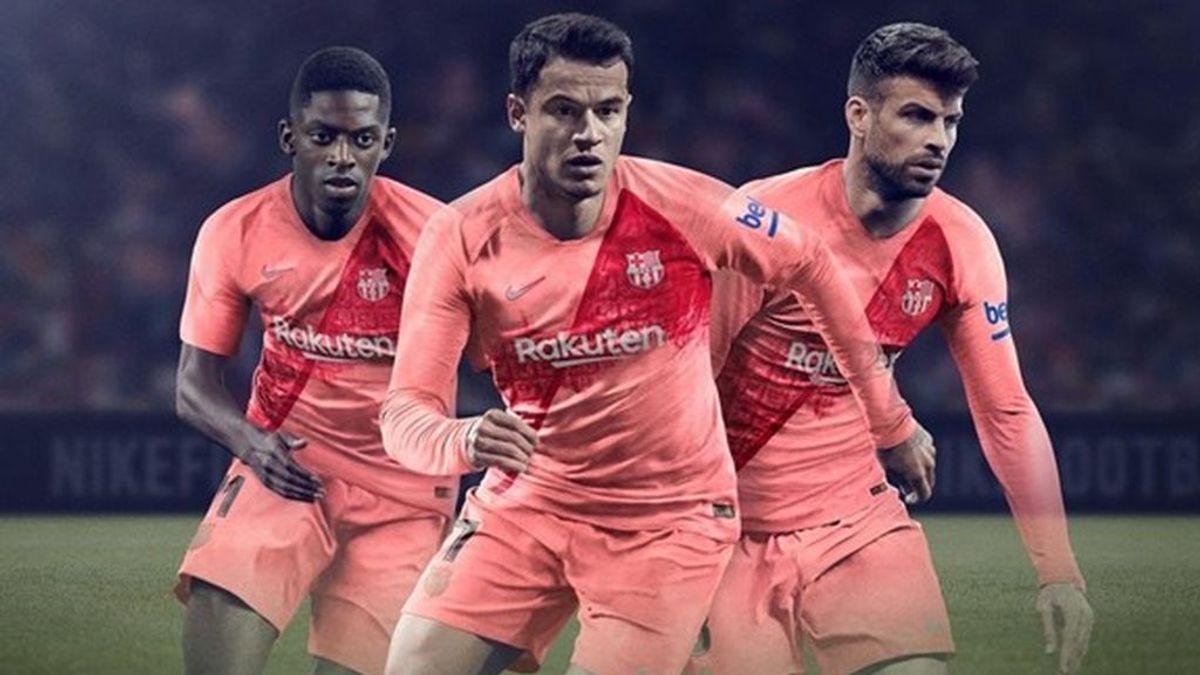 La tercera camiseta del Barcelona