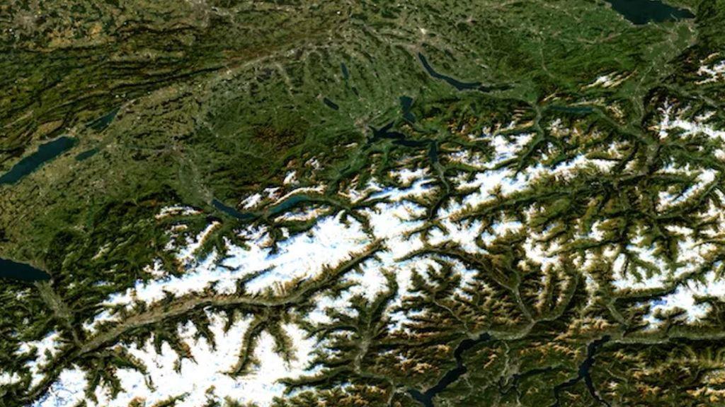 Suiza en alerta: las zonas de nieve eterna empiezan a desaparecer, incluso en los Alpes