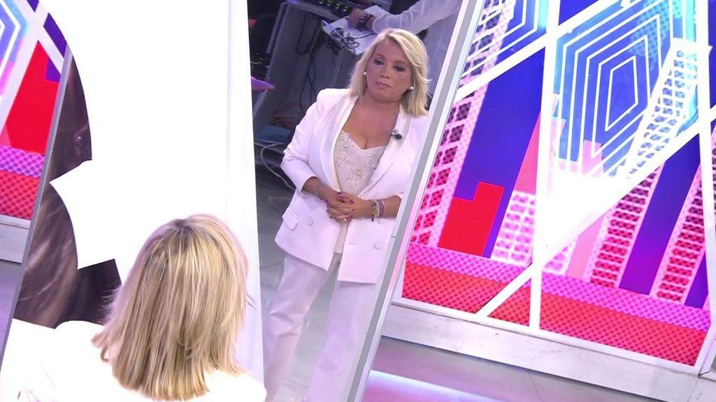 """Carmen Borrego descubre su nueva imagen entre lágrimas: """"¡Madre mía! Es impresionante"""""""