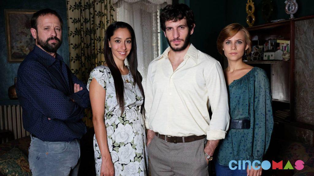 Patxi Freytez, Oona Chaplin, Quim Gutiérrez y Aura Garrido