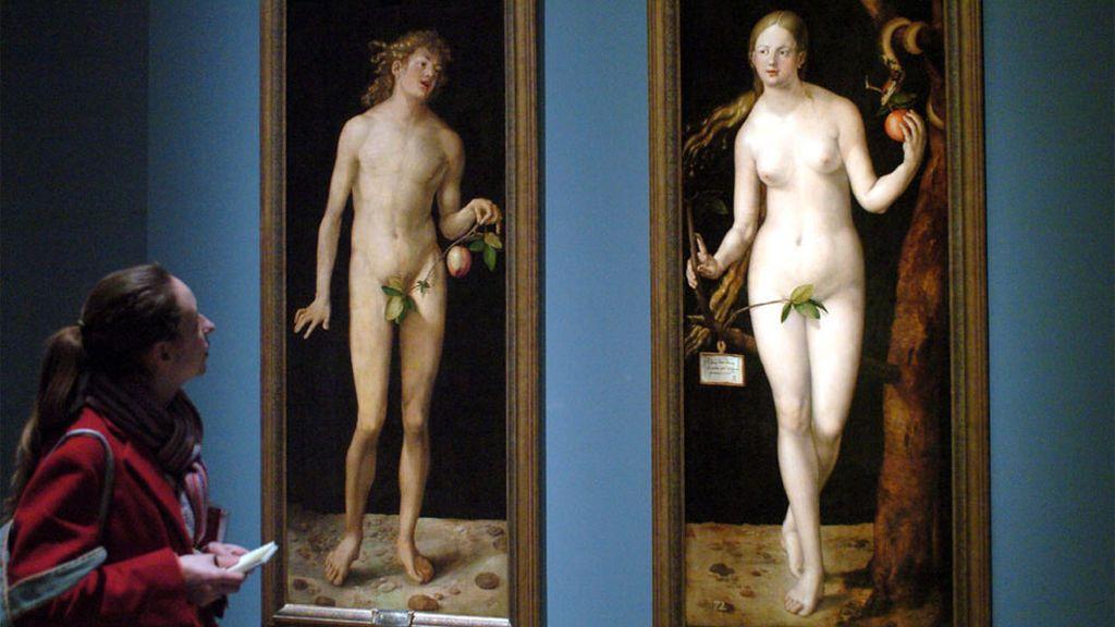 Cuadro de Adán y Eva