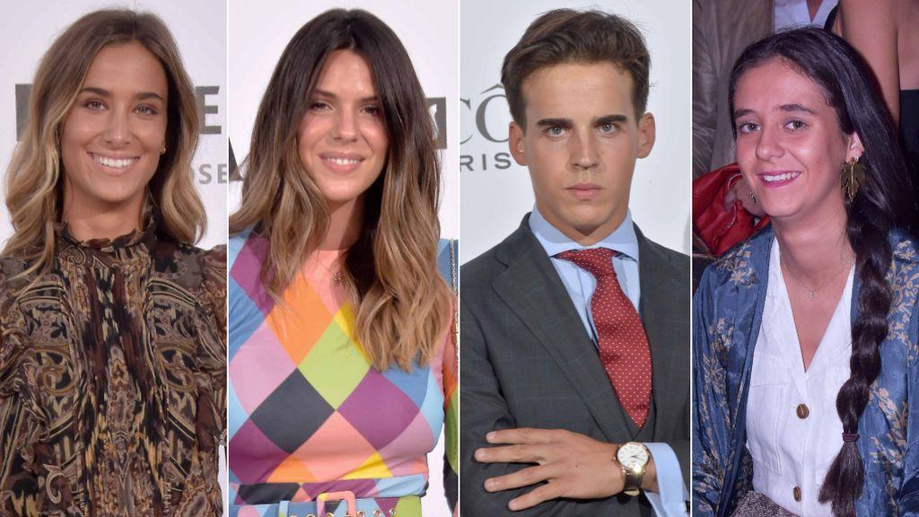 Victoria Federica con Gonzalo Caballero, Laura Matamoros y María Pombo: los vips se van de fiesta