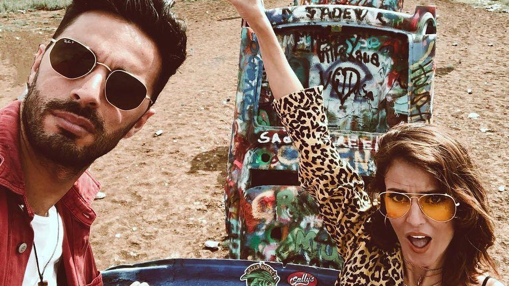 Petra y Cristian 'GH Revolution' desnudos en su viaje por EEUU