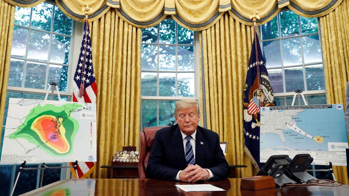 Trump acusa a los demócratas de inflar la cifra de muertos por los huracanes que asolaron Costa Rica