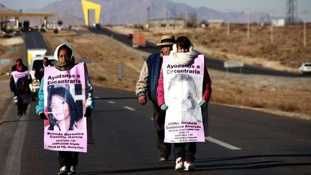 Las mujeres mexicanas  huyen de la violencia de género en refugios secretos en la frontera