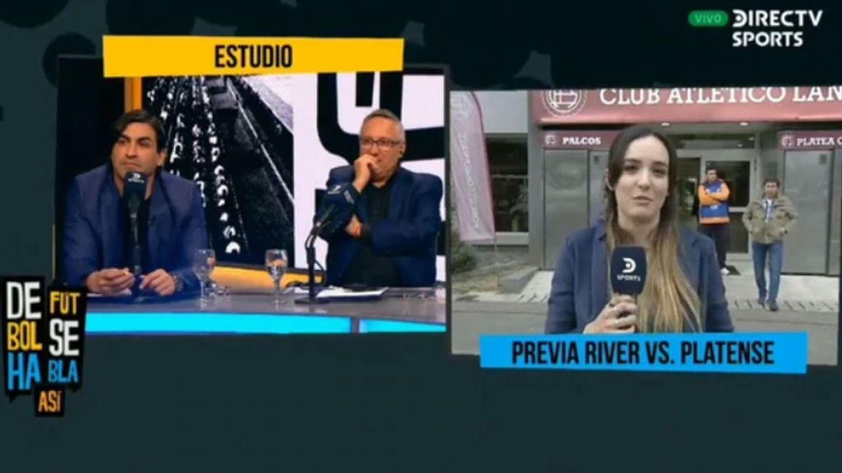 Una periodista da una lección a un ex futbolista argentino tras un comentario machista en televisión