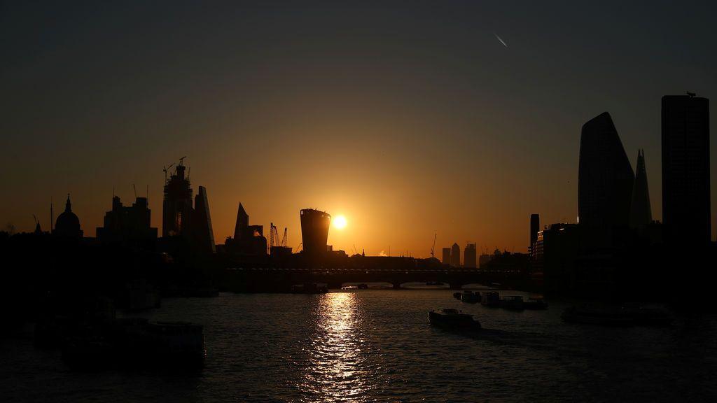 Amanecer en Londres