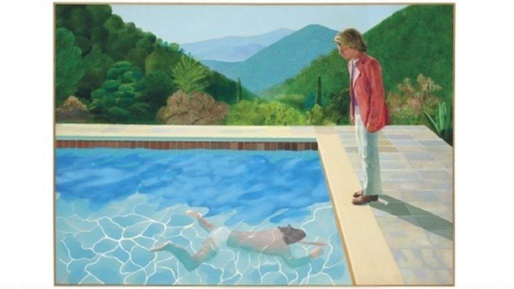 """Una obra de Hockney aspira a ser  """"la pieza de más valor jamás subastada de un artista vivo"""""""