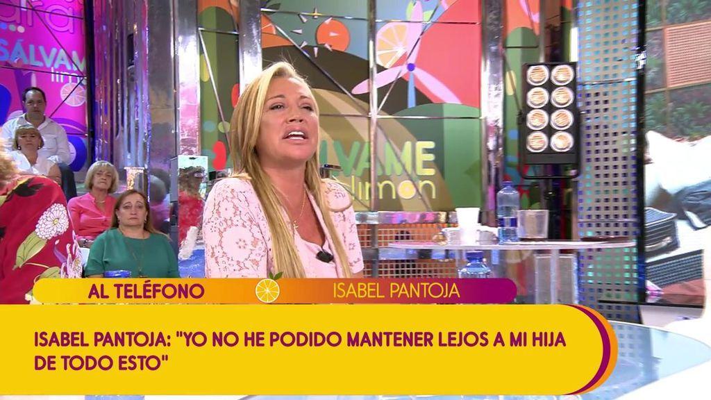"""Belén Esteban hace llorar a Isabel Pantoja con sus palabras de consuelo: """"Te entiendo como madre"""""""