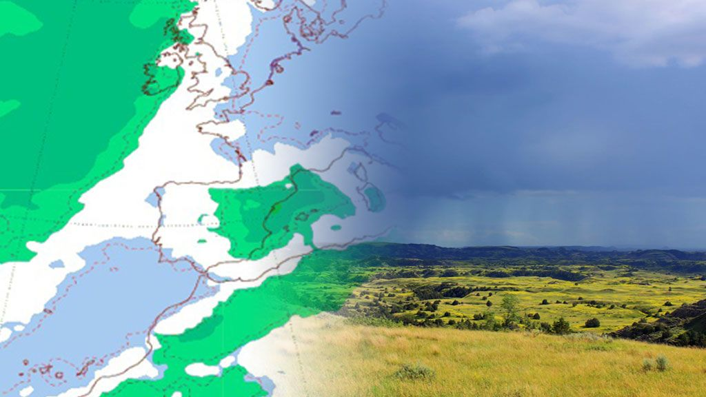 Intensas lluvias y tormentas en la mitad oriental: te contamos el tiempo de la próxima semana