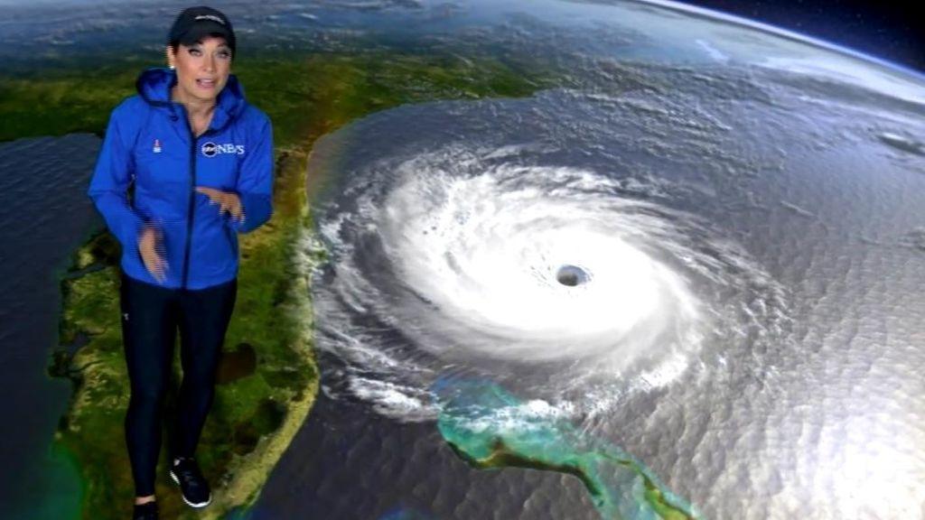 El espectáculo informativo de un huracán