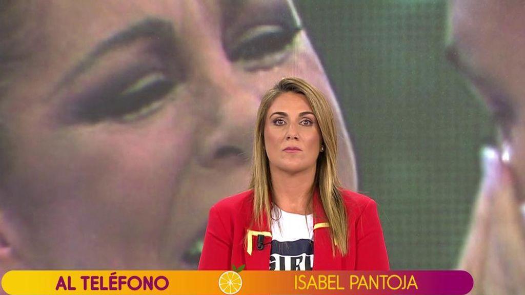 """Isabel Pantoja: """"Para que Jorge Javier y yo retomemos nuestra relación debe pedirme perdón"""""""