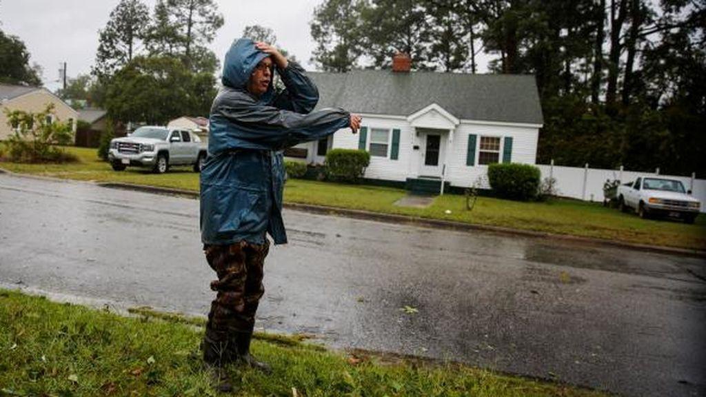 Llega Florence: El viento y la lluvia se empiezan a notar con fuerza