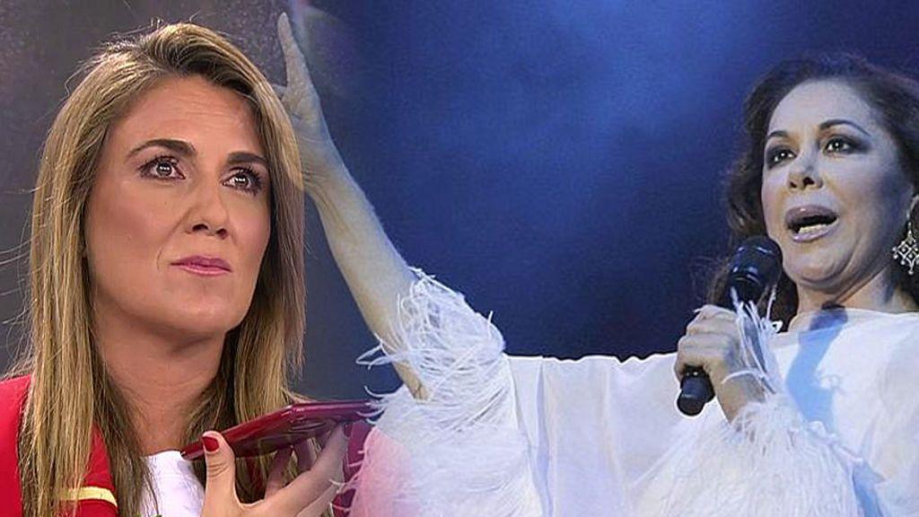 """¡Isabel Pantoja estalla en directo en 'Sálvame'! """"Estoy más tranquila con mi hija en 'Gran Hermano VIP' que por las calles"""""""