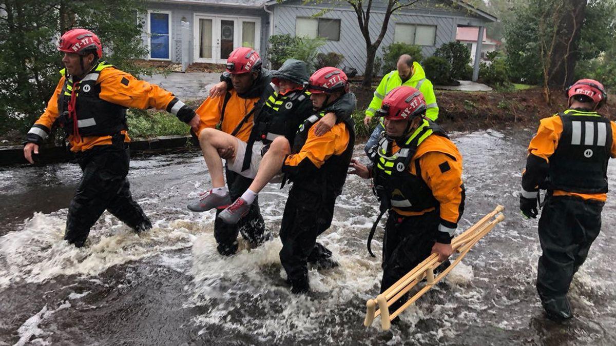 El huracán Florence se cobra las primeras víctimas