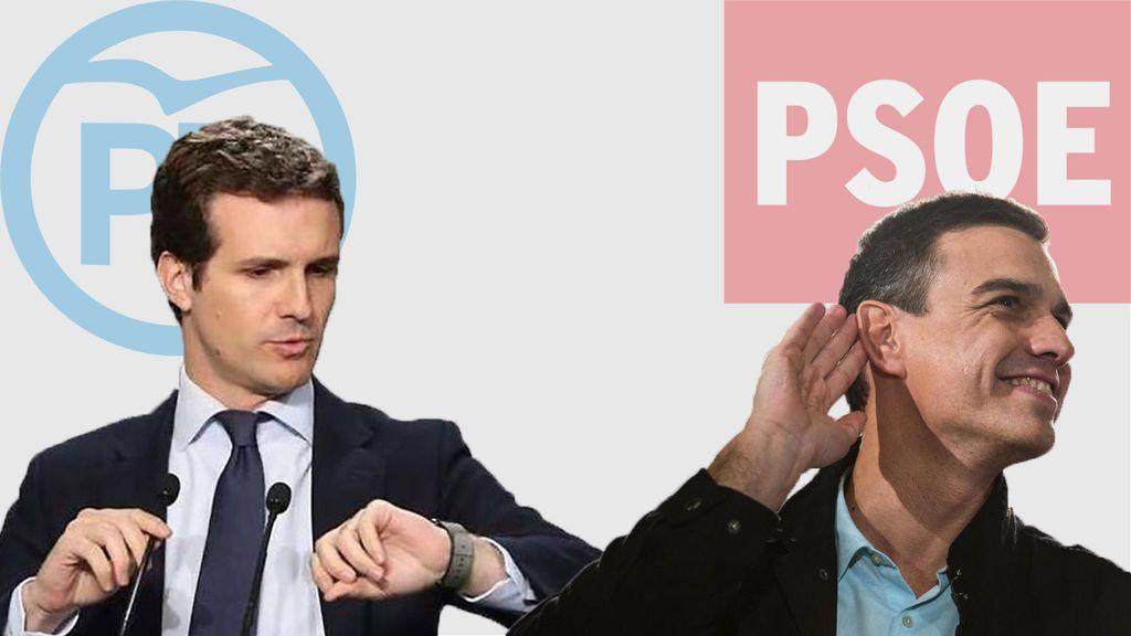 Más presión: borran correos de la URJC mientras Casado pasa al ataque con Sánchez y se defiende