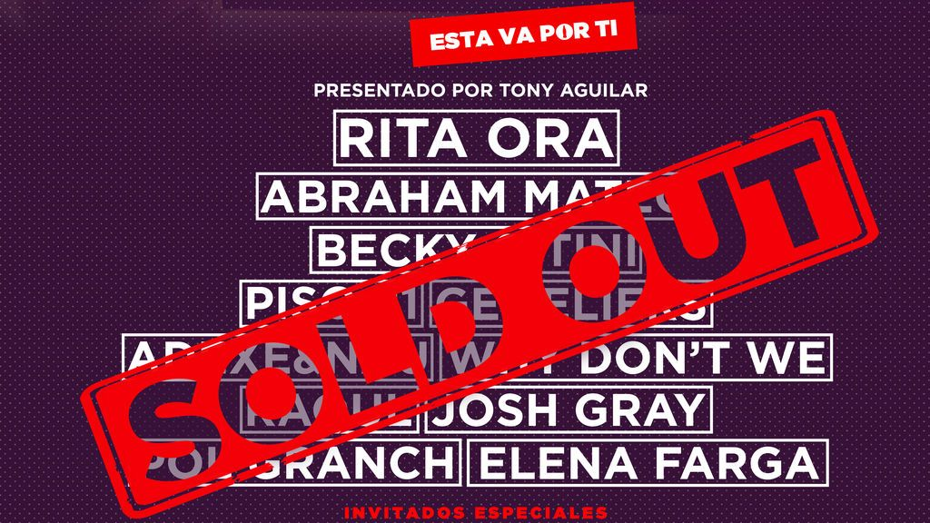 "El festival Coca-Cola Musi Experience Fan Edition cuelga el cartel de ""SOLD OUT"""