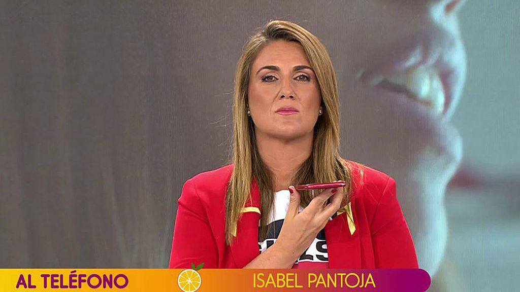 La intervención de Isabel Pantoja en 'Sálvame', completa