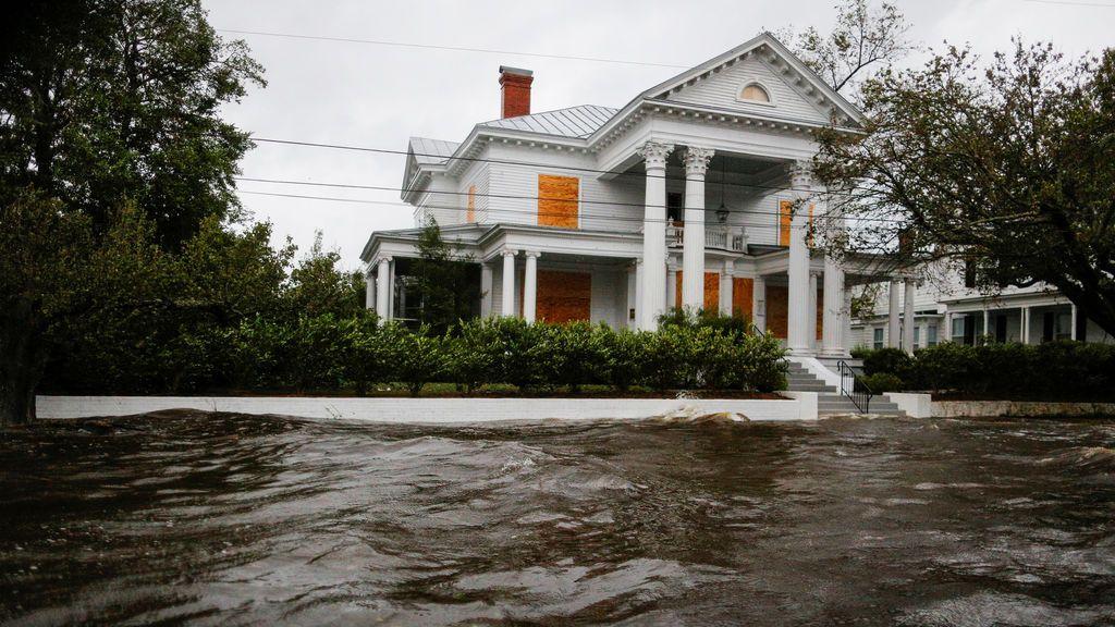 La tormenta tropicalFlorencese debilita tras dejar al menos cinco muertos